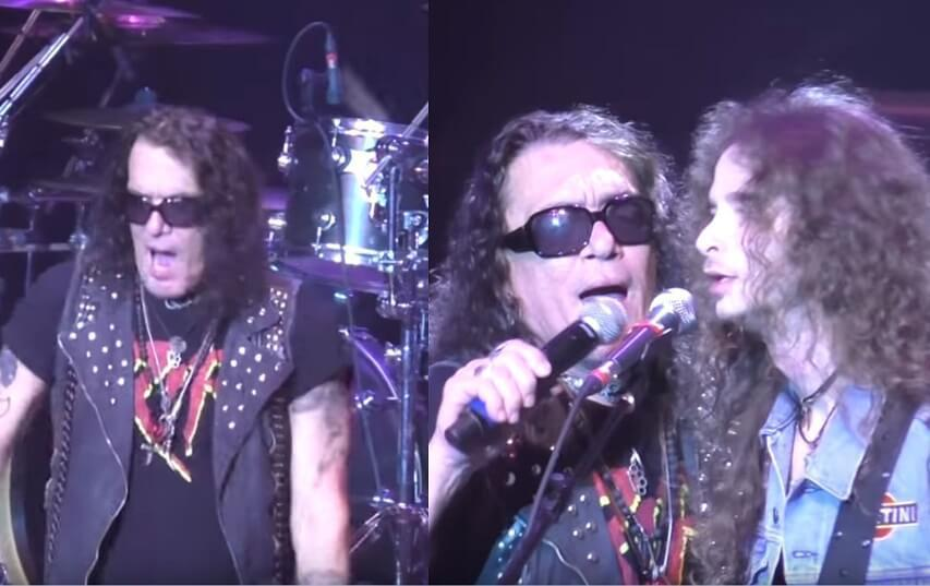 Stephen Pearcy performs probably intoxicated again 1