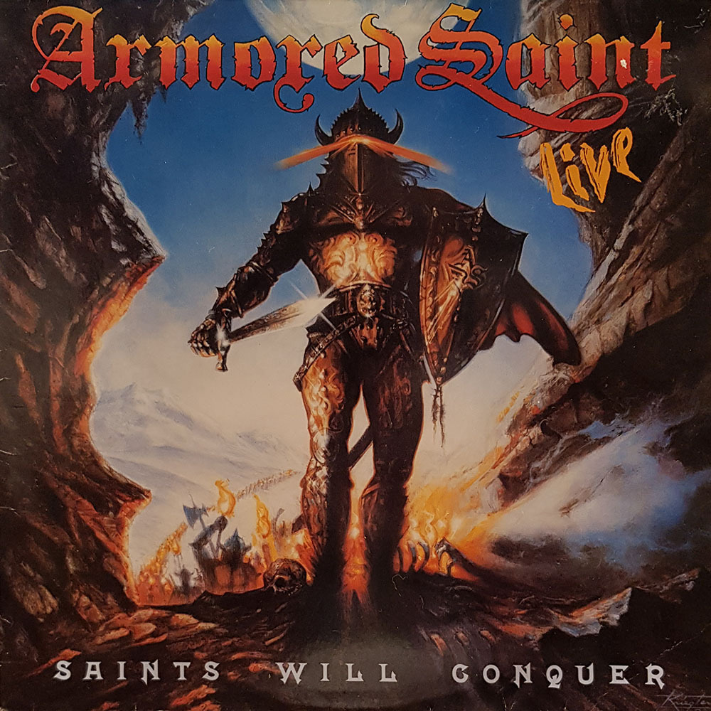 ARMORED SANIT   SAINTS WILL CONQUER