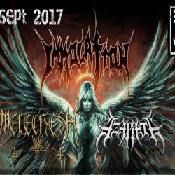 Immolation + Melechesh + Azarath @ Revolver Club - San Donà di Piave (Ve)