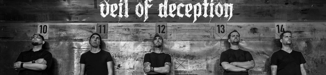 Veil Of Deception: online il lyric video di 'Shadows on the Wall'