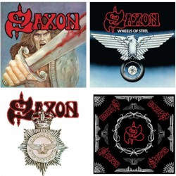 Saxon, Wheels Of Steel, Strong Arm Of The Law [BMG Reissue]