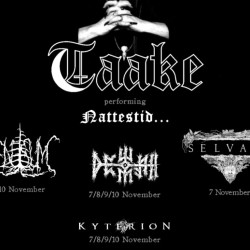 "Taake ""Nattestid 20th Anniversary Tour"" @ Traffic Club, Roma"