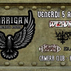 Morrigan Metal Fest - Witchunter + Vajass + Eighty One Hundred +Eravian @Camera Club di Matera