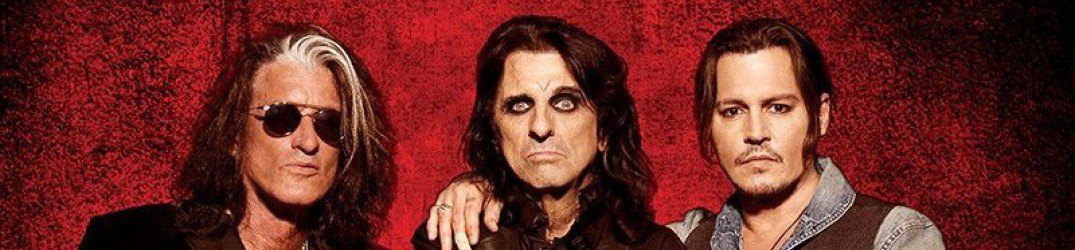 "Hollywood Vampires (Alice Cooper): il lyric video di 'Who's Laughing Now' dal nuovo album ""Rise"""