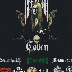 South of Heaven Fest: Coven, Demon Head, Circle of Witches & more @Teatro Lo Spazio, Roma