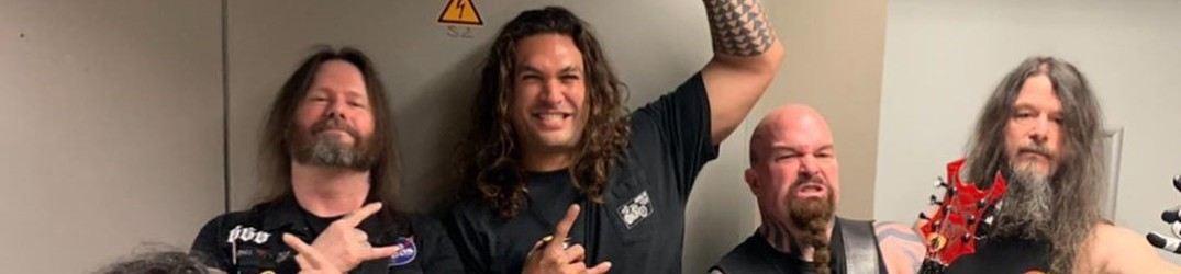 Game of Thrones: Jason Momoa incontra Slayer e Anthrax