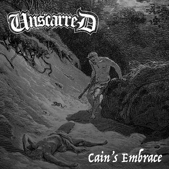09) Unscarred Cain's Embrace front cover